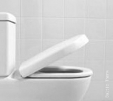 Unitazo dangtis Villeroy&Boch Subway Compact Softclose